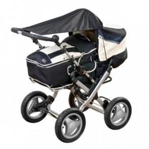 Reer Kinderwagen-Sonnensegel - Grau
