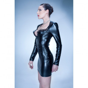 Patrice Catanzaro Melena Lack/Wetlook Top
