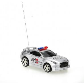 RC: Police Mini Racer Silver