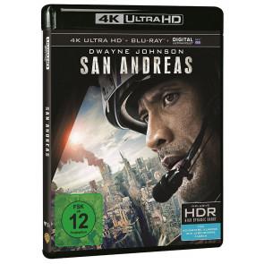 San Andreas 4K Ultra HD Blu-Ray