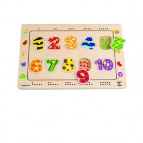 Hape Steckpuzzle mit Zahlen
