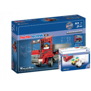 Fischer Technik Advanced Trucks + LED Set