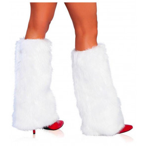 Roma Costume Boot Covers weiss