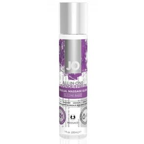 System JO Sensual Massageöl Lavendel - 30ml