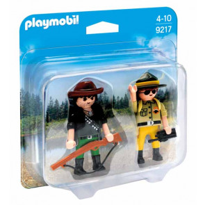 PLAYMOBIL Duo Pack Ranger und Wilddieb