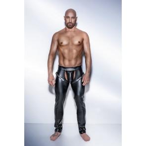 Noir Handmade - lange Hose mit verstellbaren Bändern