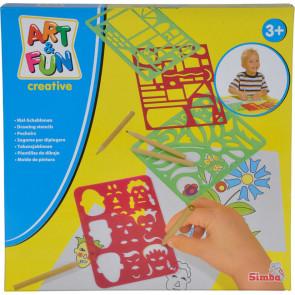 Simba Art&Fun Schablonenset