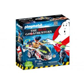 PLAYMOBIL Ghostbusters - Stantz mit Flybike