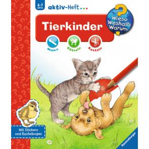 Ravensburger WWW aktiv-Heft Tierkinder