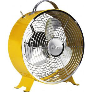 Tristar VE-5964 Tischventilator Retro Gelb 25cm