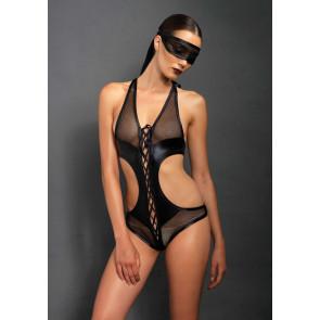 Leg Avenue Body mit Augenmaske