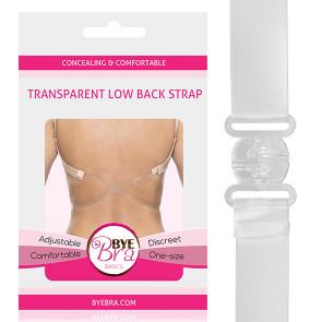 Bye BraTransparente Tiefe Rückenbänder