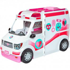Mattel Barbie 2-in-1 Krankenwagen Spielset