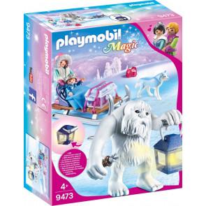 PLAYMOBIL® Magic - Schneetroll mit Schlitten
