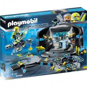 PLAYMOBIL® Top Agents - Dr. Drone's Command Center