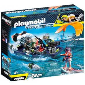 PLAYMOBIL® Top Agents - TEAM S.H.A.R.K. Harpoon Craft