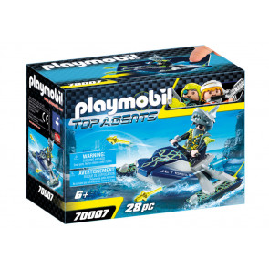 PLAYMOBIL® Top Agents - TEAM S.H.A.R.K. Rocket Rafter