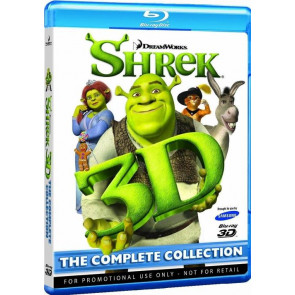 SHREK - The complete collection 3D