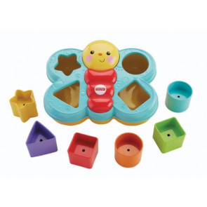 Mattel Fisher Price Sortierspas-Schmetterling
