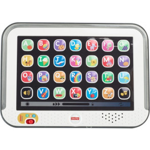 Mattel Fisher Price Lernspass Tablet grau