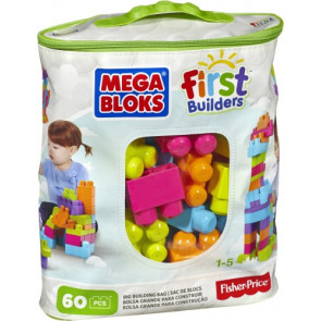 Mattel Mega Bloks FB Bausteinebeutel Medium 60Teile