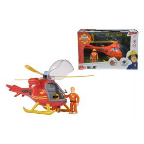 Dickie Sam Hubschrauber mit Figur
