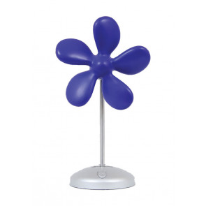 Sonnenkönig Flower Fan blau