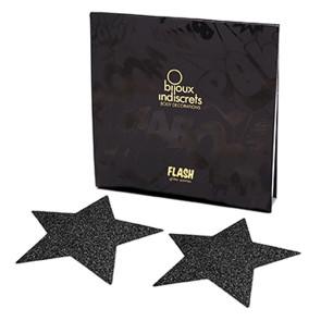 Bijoux Indiscrets Flash Star - Schwarz