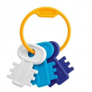 Chicco Schlüsselbeissring Blau