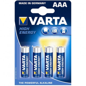 Varta High Energy Micro 4 AAA LR 03