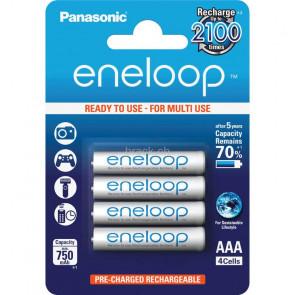 Panasonic Eneloop 4x AAA 750 mAh