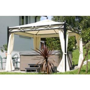 Sonnenkönig Zelt Pavillon Rom 3x3 Meter