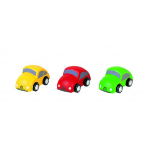Plan Toys Autos Version II, 3er Set