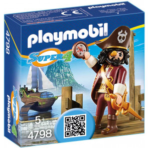 PLAYMOBIL Super 4 Sharkbeard