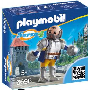 PLAYMOBIL Super 4 Königswache Sir Ulf