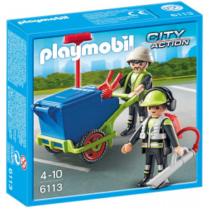 PLAYMOBIL City Action - Stadtreinigungs-Team