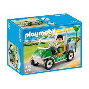 PLAYMOBIL Summer Fun - Campingplatz-Servicefahrzeug