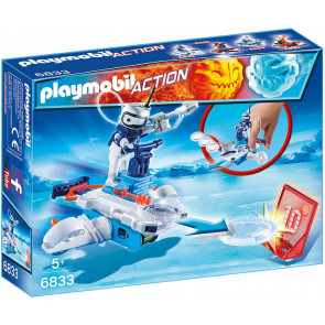PLAYMOBIL® Action - Icebot mit Disc-Shooter