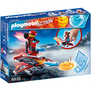 PLAYMOBIL® Action - Firebot mit Disc-Shooter