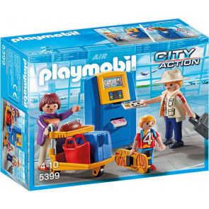 PLAYMOBIL City Action - Familie am Check-in Automat