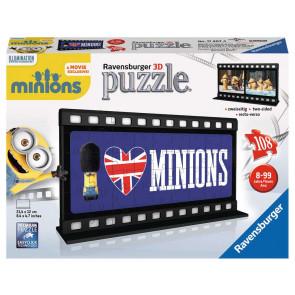 Ravensburger Filmstreifen Minions British Puzzle