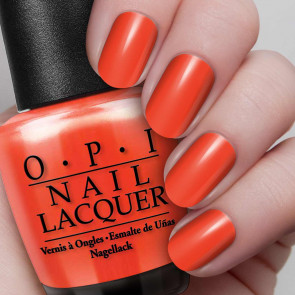 OPI MLB Fashion Plate - Orange You Going to the Game?