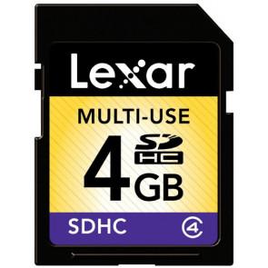 Lexar SDHC 4GB