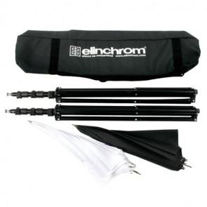 Elinchrom Stativ/Schirm Set