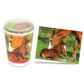 Nuernberger Cup Puzzle - Pferde / Lilly das Fohlen