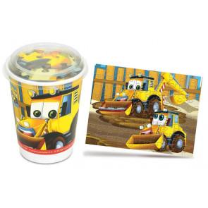 Nuernberger Cup Puzzle - Baufahrzeuge / Dozer Bulli
