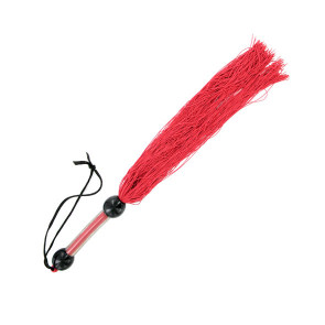 S&M Medium Rubber Whip - Rot