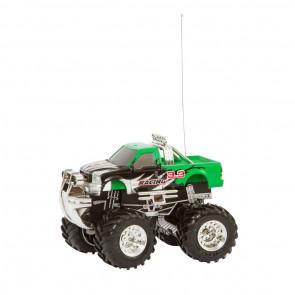 RC: Mini Off-Road Truck Green - 27 Mhz.