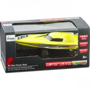 RC: Mini Power Boat Yellow 2.4 GHz