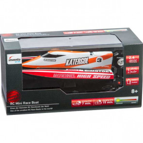 RC: Mini Race Boat Red 2.4 GHz